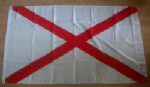 St Patrick's Cross Large Flag - 5' x 3'.